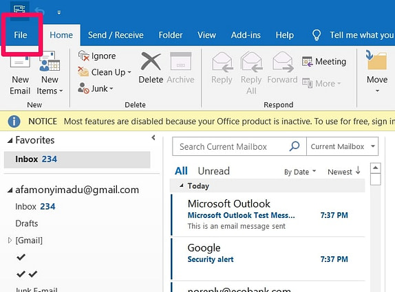 Set-up Gmail IMAP Setting In Outlook [Step-By-Step Guide]