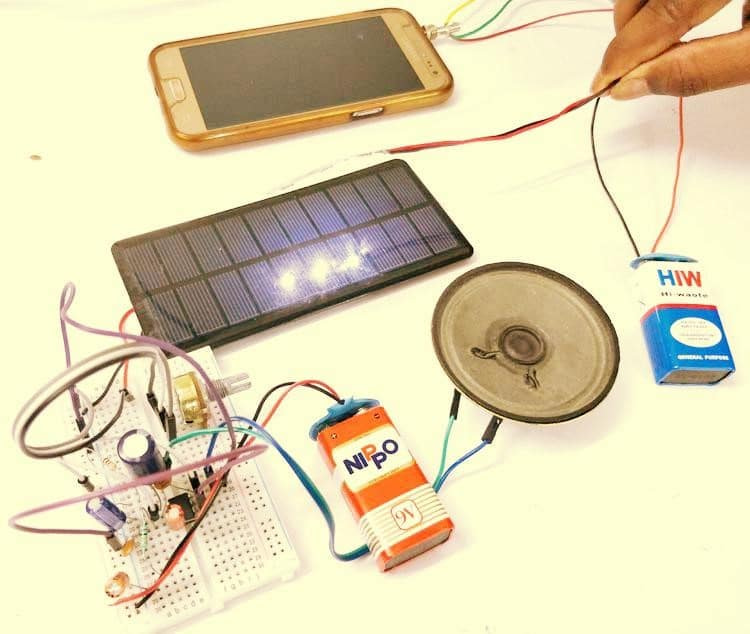 How to Build LI-Fi Project and Transmit Audio with Light