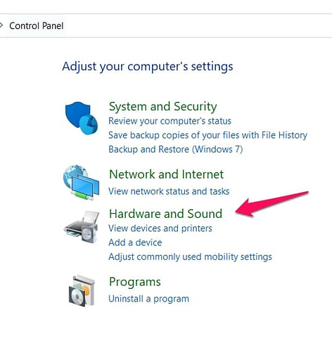 Mouse Acceleration in Windows 10