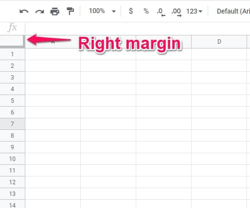 Freeze Cells In Google Sheets