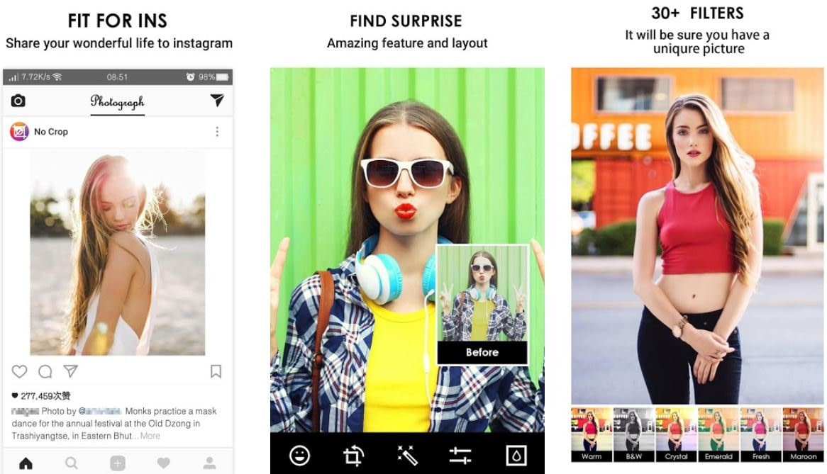 Best Square Photo Apps For Android