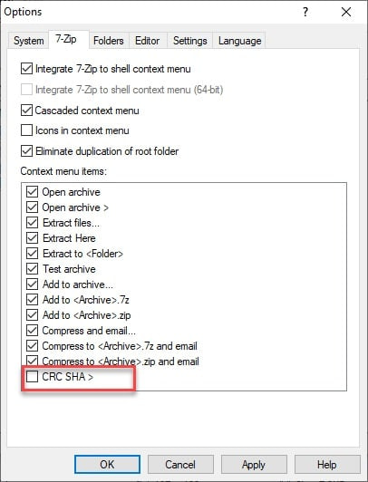 What is CRC SHA? How To Remove it From Context Menu