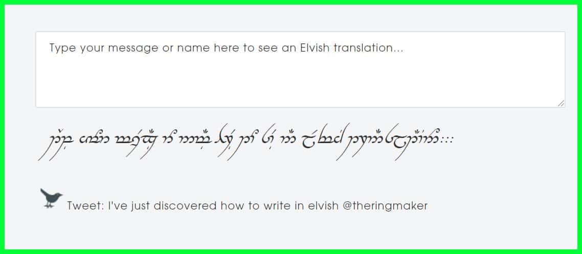 11 Of The Best Elvish Translator Tools To Try Out