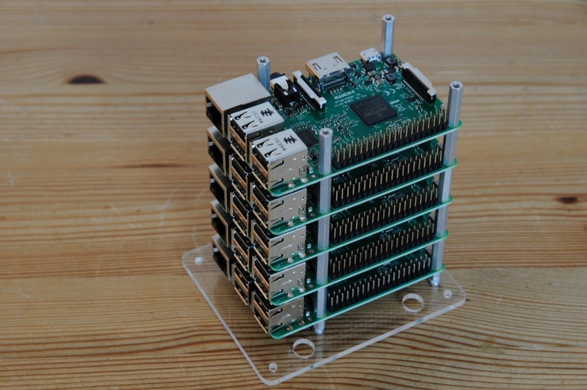 Build your own Super Computer with Raspberry pi 3 Cluster