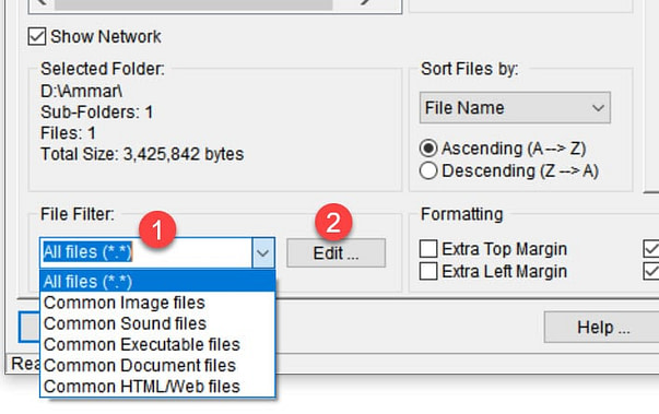 How To Print lists of Files in a Folder in Windows 10