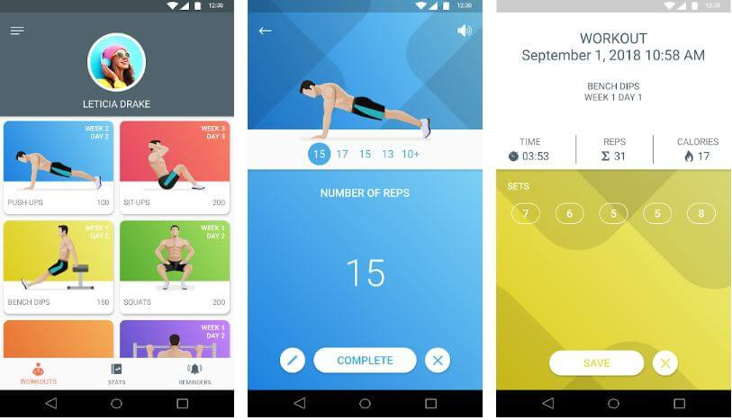 Push up Apps