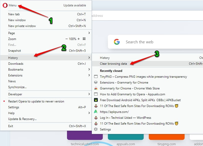 How To Clear History In All Browsers [Step-By-Step Guide]
