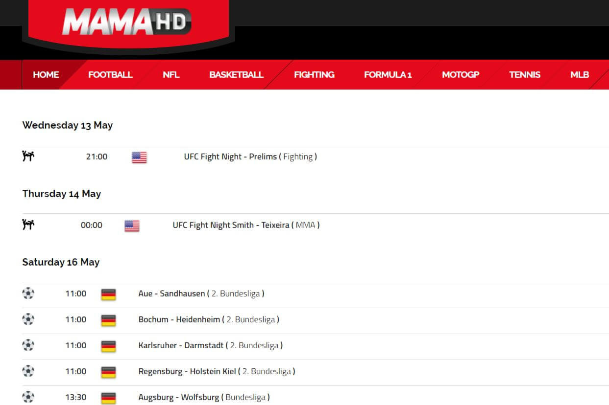 11 Of The Best Free Sports Streaming Sites