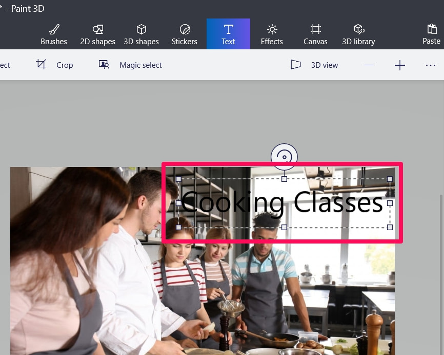 How To Edit Text In Paint 3D [Step-By-Step]