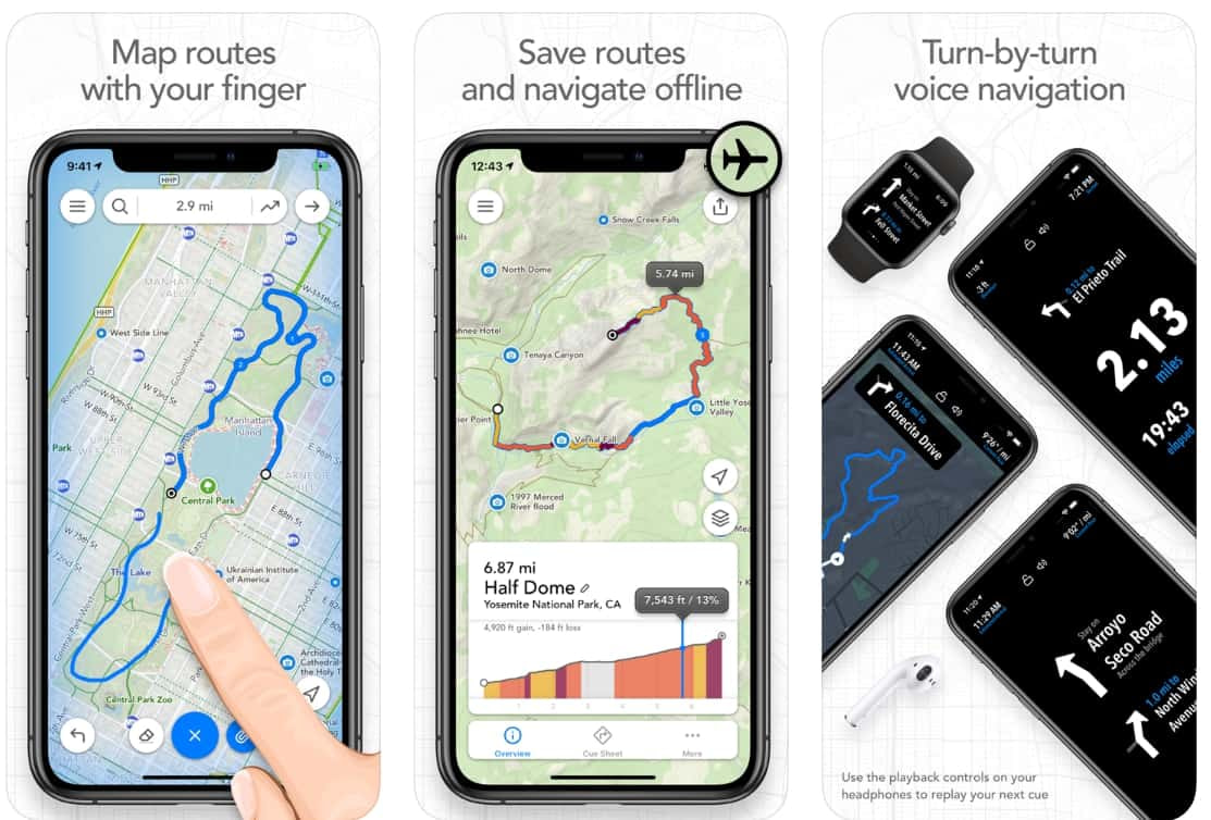 best app for walking and cycling