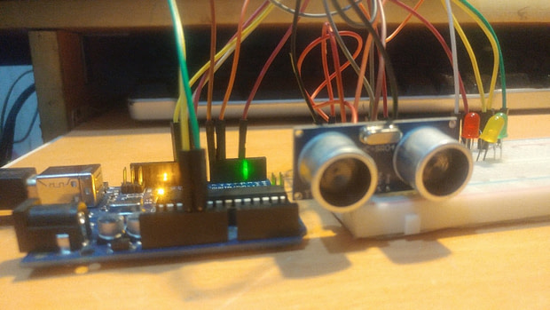 How To Build Your own Security Alarm system Using HC-SR04