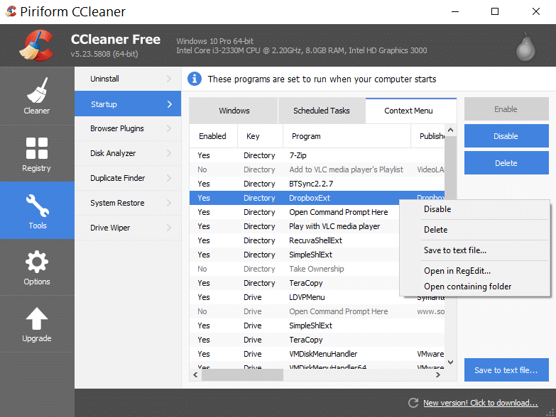 How to Clean Up Windows 10 Messy Context Menu