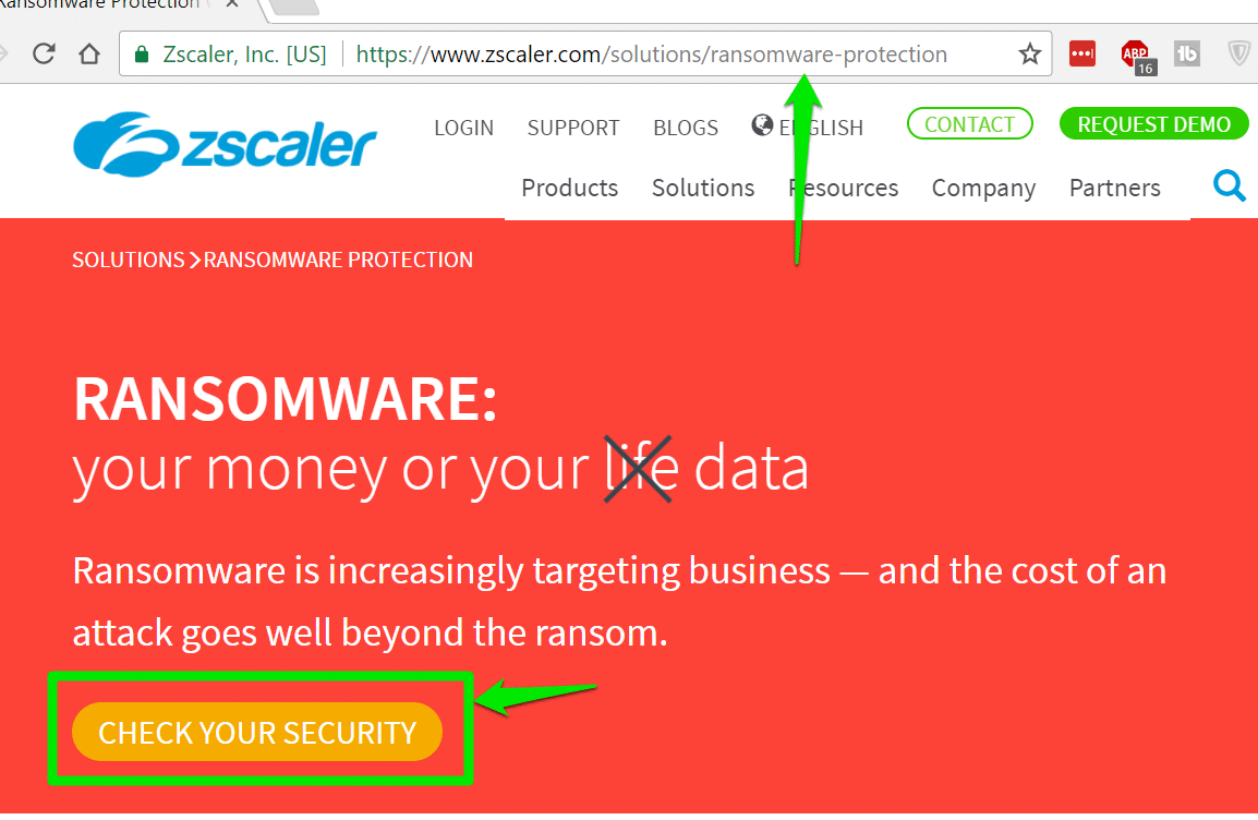How good is your internet security against Ransomware
