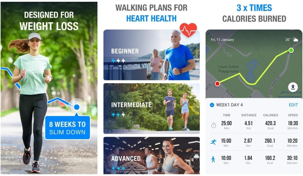 13 Of The Best Apps For Walking To Track Your Steps