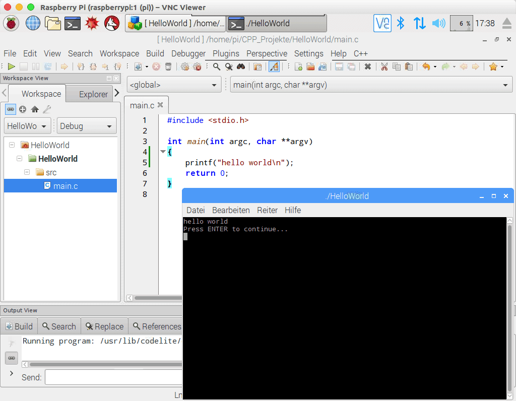 How to Compile C++ Programming in Raspberry Pi