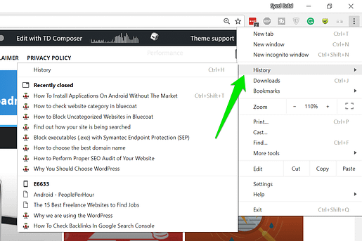 How To Resume Last Browsing Session In Any Browser