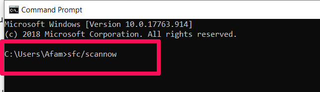 How to Resolve potential windows update database error detected