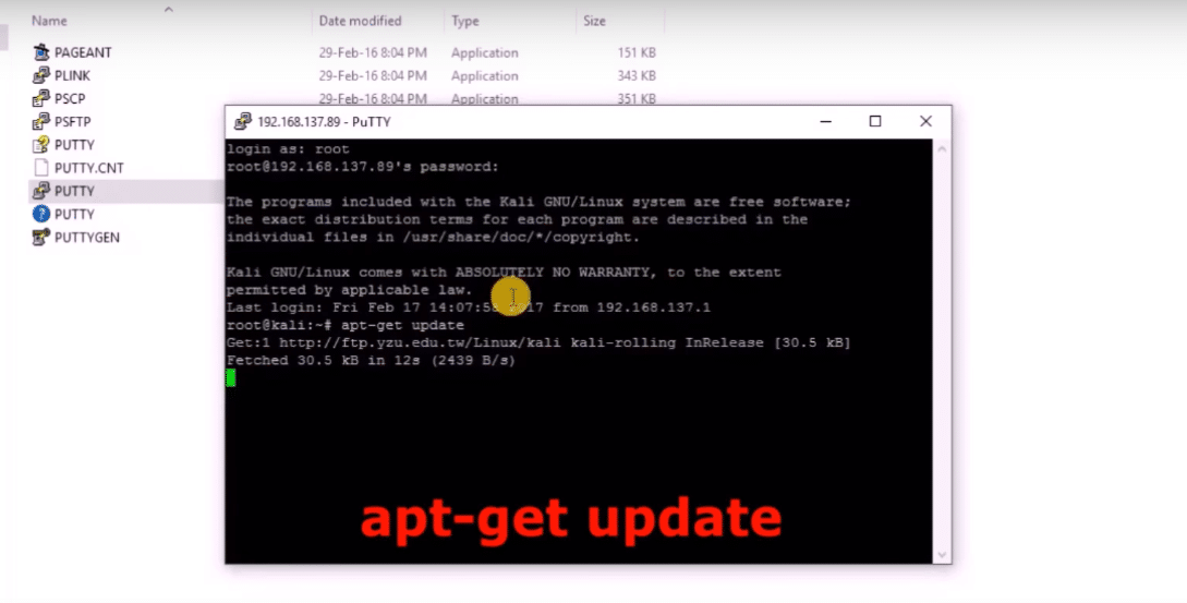 How to Install Kali Linux on Raspberry Pi 3