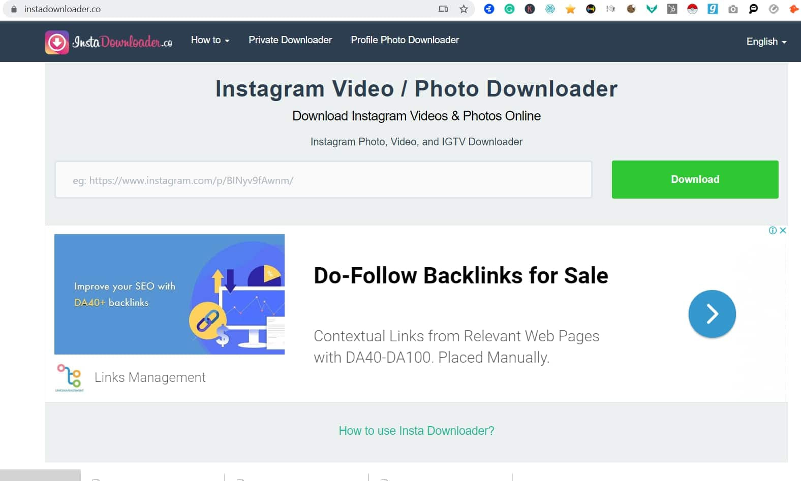 How To Download Videos on Instagram To MP4 Format