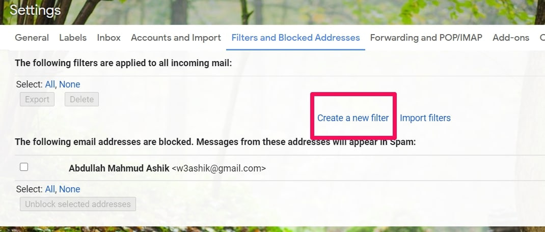 How To Set-up Gmail Filters To Unclutter Mailbox