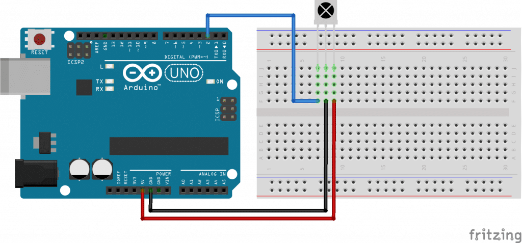 Control Arduino with a TV Remote