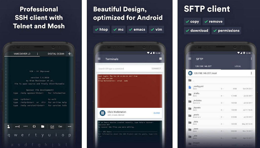 Android SSH Client
