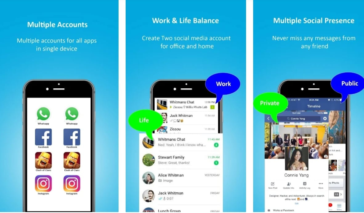 9 Of The Best Clone Apps To Manage Multiple Accounts