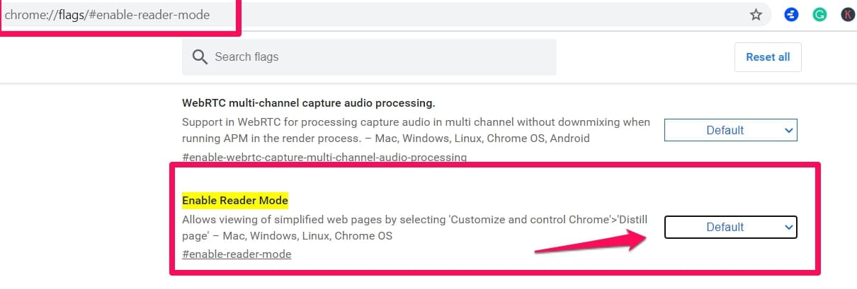 Tips On Enabling And Disabling Reader Mode In Chrome