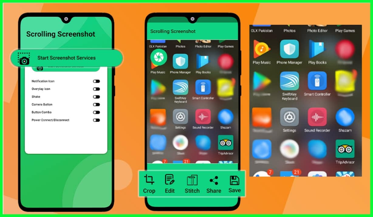 Tools For Scrolling Screenshots on Windows, Android & iOS