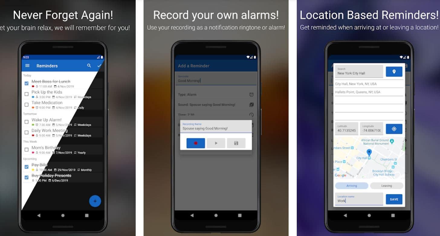 13 Of The Best Reminder Apps For Android