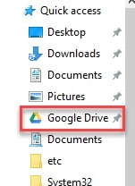 How To Add Google Drive To File explorer