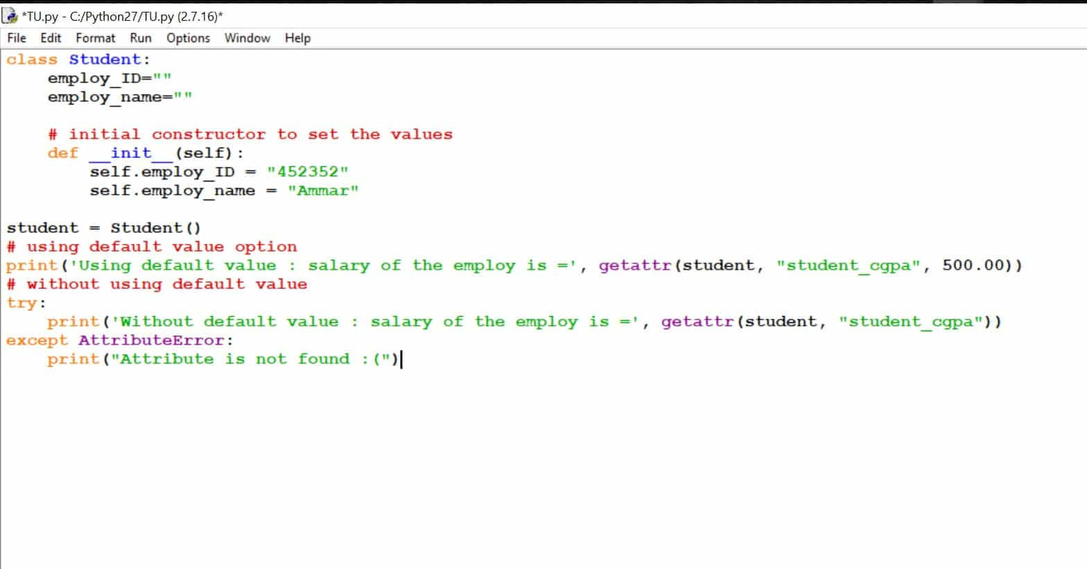 What is getattr() Function in Python? What is Getattr () used for