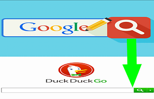 How to switch from Google Search to DuckDuckGo