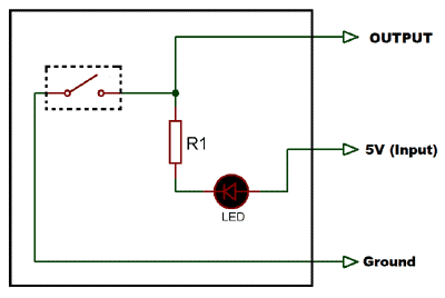 Drive Tilt Sensor without Arduino with the help of transistor & Buzzer