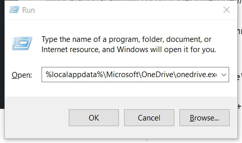 OneDrive Stuck on Processing Changes Screen