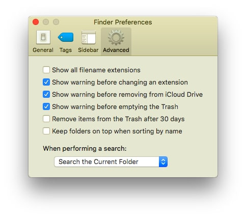 Best Effective ways to search file on MacOS
