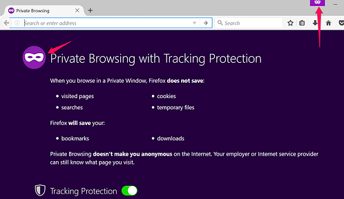 How to enable private browser in any Browser
