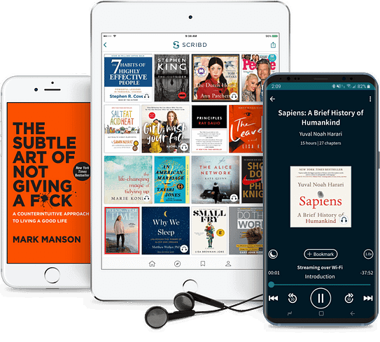 11 of The Best Audible Alternatives That You Cannot Ignore