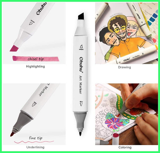 Best Copic Markers Alternatives