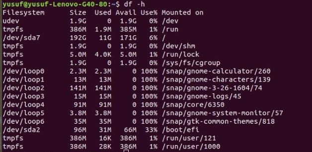 25 Linux df Command To Check Disk Space