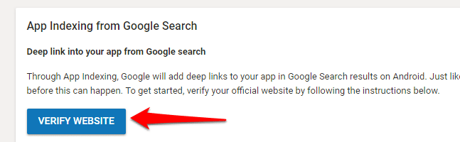 How to Verify Your Android Apps on Your Website