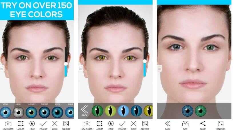 Apps To Change Eye Colour