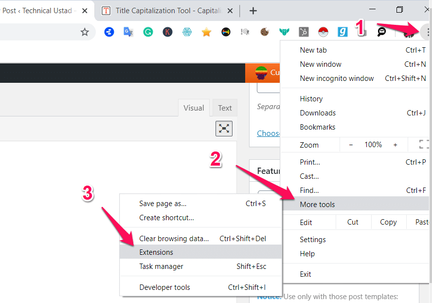 Chrome Not Working